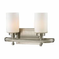 ELK 11661-2 Dawson Brushed Nickel 2-Light Vanity Light