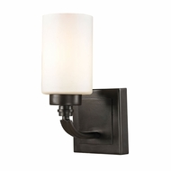 ELK 11670-1 Dawson Oil Rubbed Bronze Wall Sconce Light