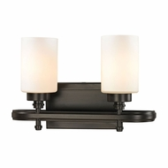 ELK 11671-2 Dawson Oil Rubbed Bronze 2-Light Bathroom Light Fixture