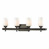 ELK 11673-4 Dawson Oil Rubbed Bronze 4-Light Bathroom Vanity Light