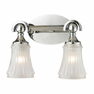 ELK 11681-2 Jayden Polished Chrome 2-Light Bathroom Sconce