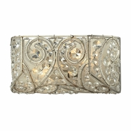 ELK 11690-2 Andalusia Aged Silver 12  Vanity Lighting Fixture