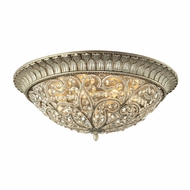 ELK 11695-8 Andalusia Aged Silver Flush Lighting