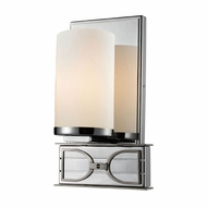 ELK 11740-1 Campolina Polished Chrome/Brushed Nickel Wall Lamp