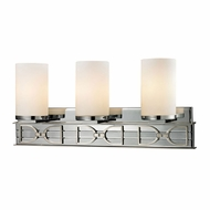 ELK 11742-3 Campolina Polished Chrome/Brushed Nickel 3-Light Bath Wall Sconce