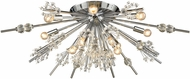 ELK 11749-12 Starburst Polished Chrome Ceiling Light Fixture