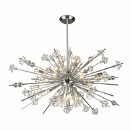 ELK 11753-29 Starburst Polished Chrome 48  Wide Lighting Chandelier
