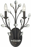ELK 11770-2 Crystal Branches Burnt Bronze Lighting Wall Sconce