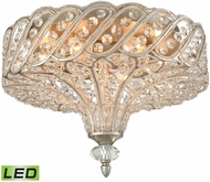 ELK 11921-6-LED Cumbria Aged Silver LED Ceiling Light Fixture