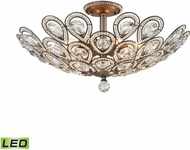 ELK 11932-8-LED Evolve Weathered Zinc LED Home Ceiling Lighting