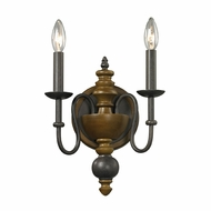 ELK 14185-2 French Country Vintage Rust Sconce Lighting