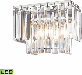 elk 15210 1 led palacial polished chrome led 10nbsp bathroom vanity lighting bathroom vanity lighting 7