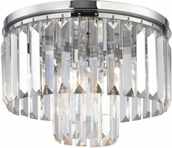 ELK 15213-1 Palacial Polished Chrome Ceiling Light