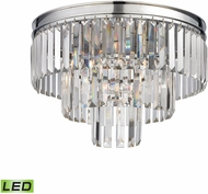 ELK 15215-3-LED Palacial Polished Chrome LED Ceiling Light Fixture