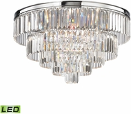 ELK 15216-6-LED Palacial Polished Chrome LED Flush Mount Lighting