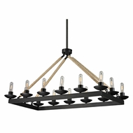 ELK 15904-14 Pearce Modern Matte Black Kitchen Island Light