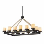 ELK 15914-14 Pearce Contemporary Matte Black Island Light Fixture