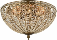 ELK 15963-8 Elizabethan Dark Bronze Overhead Lighting Fixture