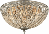 ELK 15994-6 Elizabethan Weathered Zinc Flush Lighting