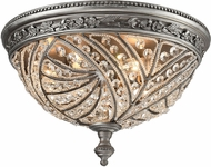 ELK 16250-4 Renaissance Weathered Zinc Overhead Lighting