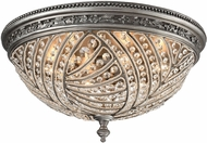 ELK 16251-6 Renaissance Weathered Zinc Flush Mount Lighting Fixture