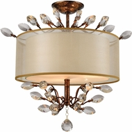 ELK 16291-3 Asbury Spanish Bronze Overhead Light Fixture