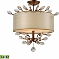 ELK 16291-3-LED Asbury Spanish Bronze LED Overhead Lighting Fixture