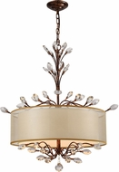 ELK 16292-4 Asbury Spanish Bronze Drum Ceiling Pendant Light