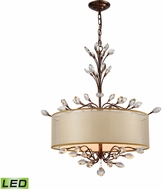 ELK 16292-4-LED Asbury Spanish Bronze LED Drum Drop Ceiling Light Fixture