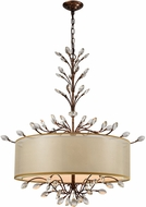 ELK 16293-6 Asbury Spanish Bronze Drum Drop Lighting Fixture