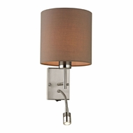 ELK 17151-2 Regina Brushed Nickel Wall Light Sconce