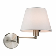 ELK 17153-1 Avenal Brushed Nickel Headboard Lamp