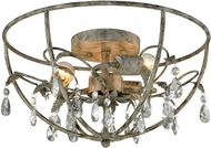 ELK 18211-3 Bridget Marble Gray Ceiling Light Fixture