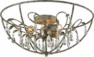 ELK 18212-3 Bridget Marble Gray Flush Lighting