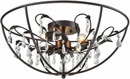 ELK 18222-3 Bridget Oil Rubbed Bronze Overhead Lighting