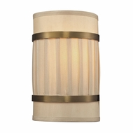 ELK 31385-2 Luxembourg Brushed Antique Brass Light Sconce