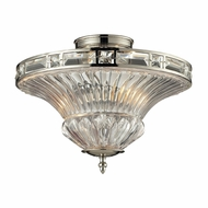 ELK 31500-2 Aubree Polished Nickel Ceiling Lighting Fixture