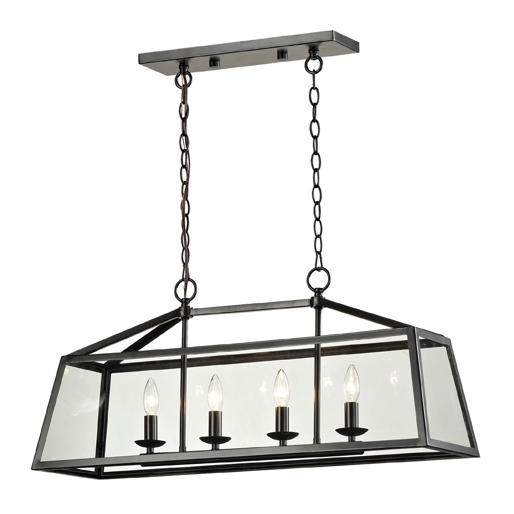 ELK 31508 4 Alanna Oil Rubbed Bronze Kitchen Island Lighting ELK 31508 4