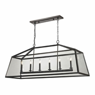 ELK 31509-6 Alanna Oil Rubbed Bronze Kitchen Island Light