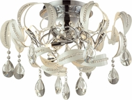 ELK 31545-12 Zebula White Halogen Ceiling Light