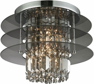 ELK 31590-3 Zoey Polished Chrome Flush Lighting