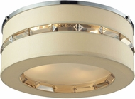 ELK 31635-4 Regis Polished Chrome Flush Mount Light Fixture
