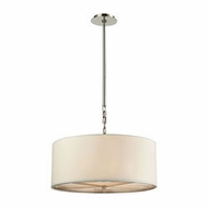 ELK 31651-5 Selma Polished Nickel Drum Pendant Lamp