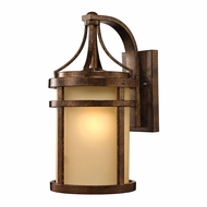 ELK 45097-1 Winona Hazelnut Bronze Outdoor Sconce Lighting