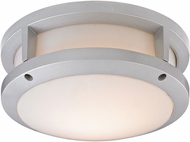 ELK 45132-LED Colby Contemporary Matte Silver LED Outdoor Flush Mount Lighting Fixture