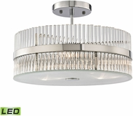 ELK 45285-3-LED Nescott Polished Chrome LED Ceiling Lighting Fixture