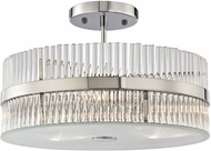 ELK 45285-3 Nescott Polished Chrome Ceiling Light Fixture