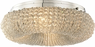 ELK 45290-4 Crystal Ring Polished Chrome Ceiling Light Fixture