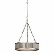ELK 46114-3 Linden Brushed Nickel Drum Hanging Light Fixture