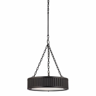 ELK 46134-3 Linden Oil Rubbed Bronze Drum Pendant Light Fixture